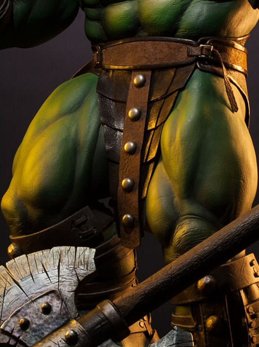 Exclusive Sideshow Collectibles King Hulk Loincloth Premium Format Statue