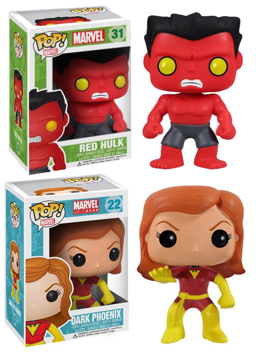 Funko Marvel Pop Vinyls July 2014 Retirement List