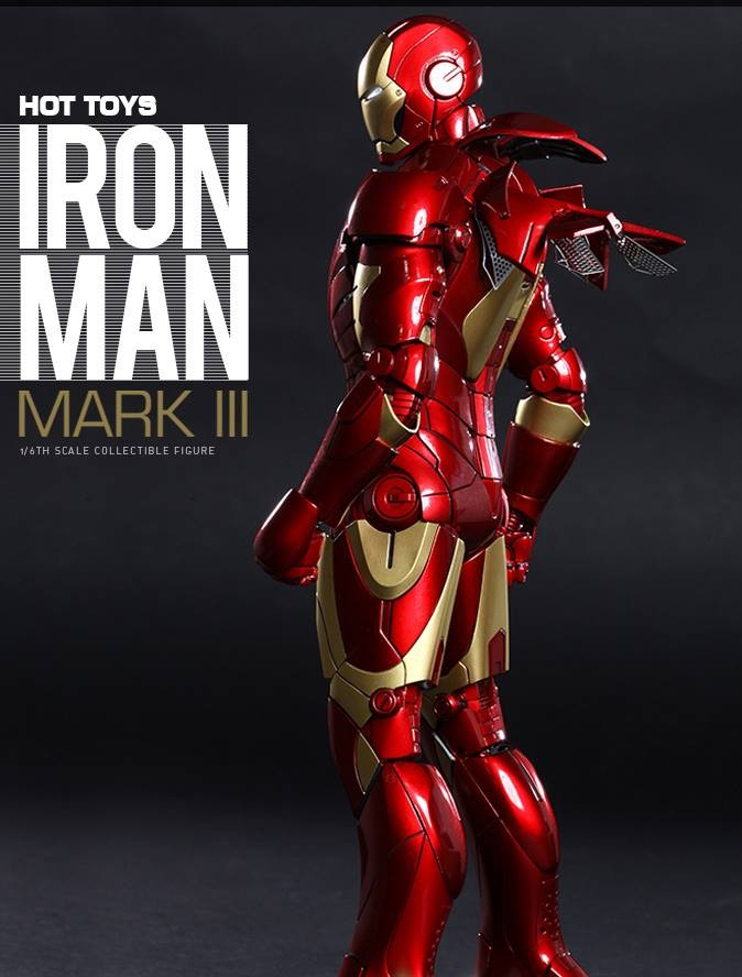 Hot Toys Iron Man Mark III Die-Cast Figure Up for Order
