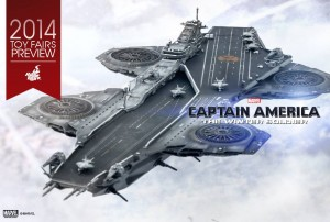 Hot Toys Helicarrier Model Captain America The Winter Soldier