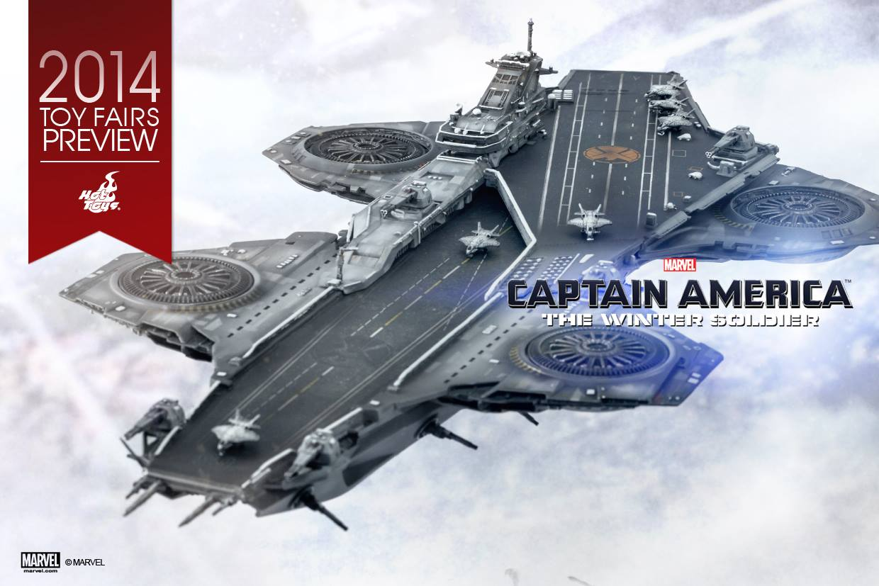 Hot Toys SHIELD Helicarrier Model Announced (SDCC 2014 ...