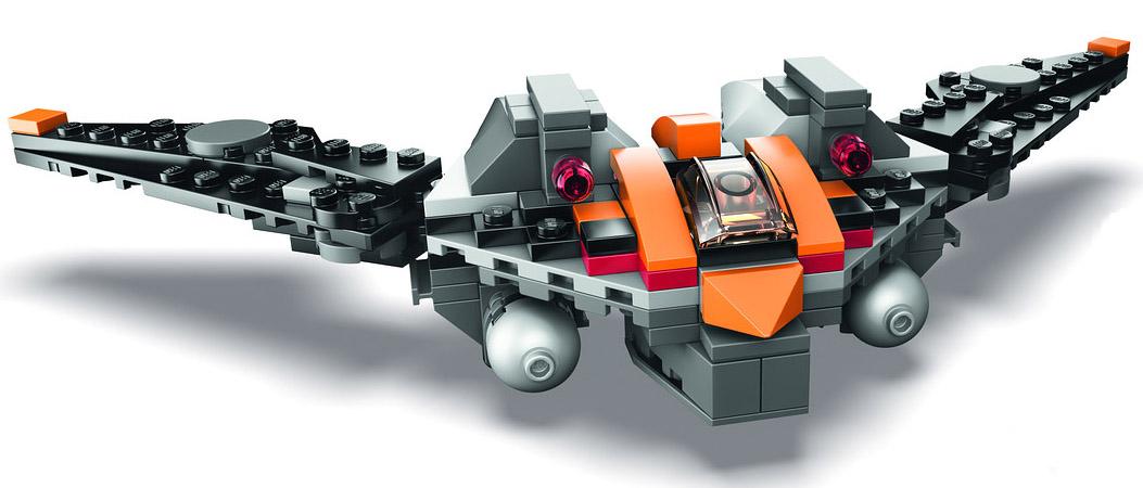 Sdcc 2014 Lego Rocket Raccoon S Warbird Set Revealed