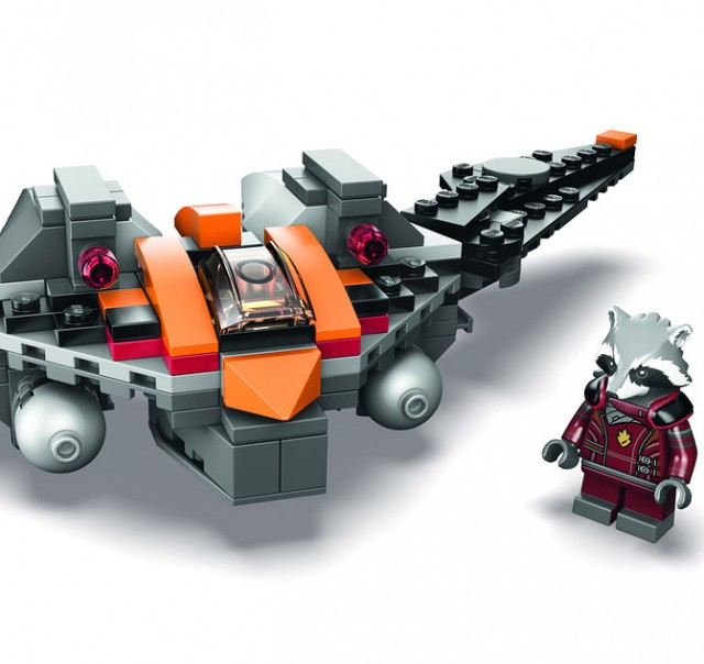 LEGO Marvel SDCC 2014 Exclusive Rocket Raccoon Warbird Set Revealed