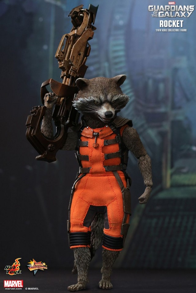 MMS252 Rocket Raccoon Hot Toys Guardians of the Galaxy Figure