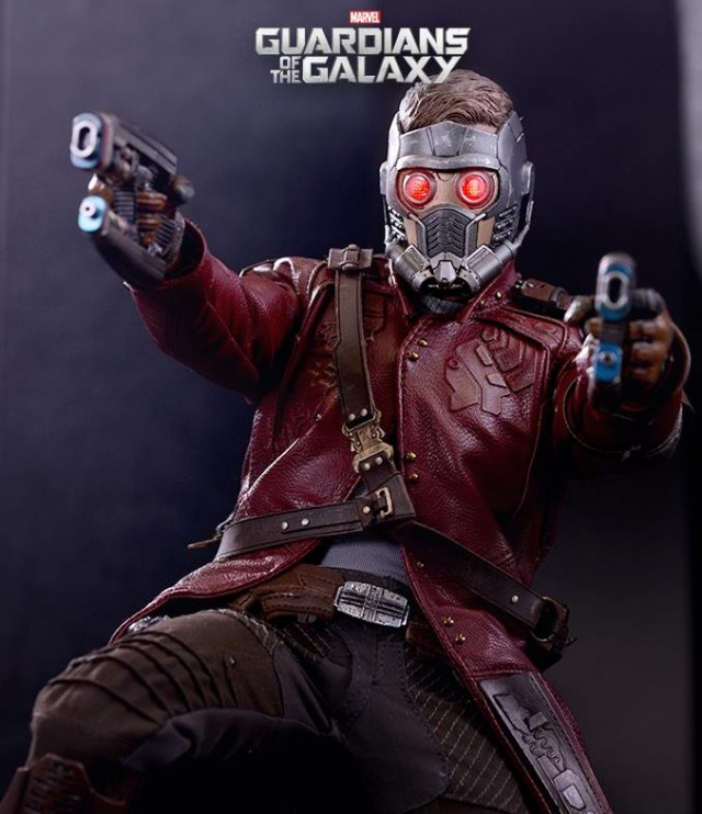 MMS255 Hot Toys Guardians of the Galaxy Starlord Sixth Scale Figure