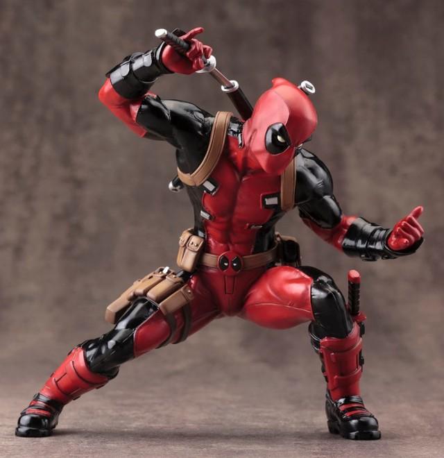 Marvel Now Deadpool Kotobukiya ARTFX+ Statue