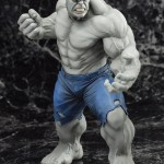 SDCC 2014 Kotobukiya Grey Hulk ARTFX+ Statue Revealed!