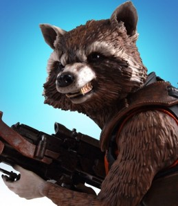 SDCC 2014 Exclusive Rocket Raccoon Mini Bust
