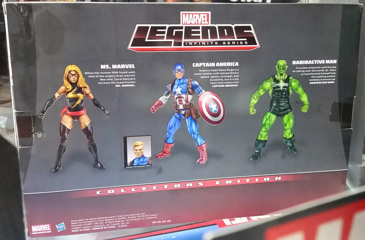 SDCC 2014: Hasbro Marvel Legends Preview Night - ActionFigurePics.com