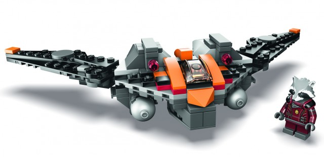 SDCC 2014 LEGO Rocket Raccoon's Warbird Sit Exclusive
