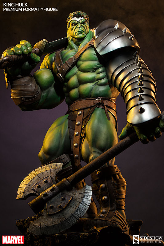 Sideshow Collectibles King Hulk Premium Format Figure Revealed