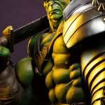 Sideshow King Hulk Premium Format Figure Photos & Order Info