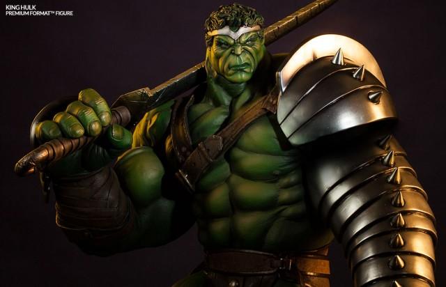 Sideshow Exclusive King Hulk Premium Format Statue