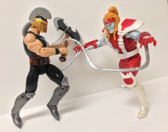 Marvel Infinite Series Figures Ares vs. Omega Red