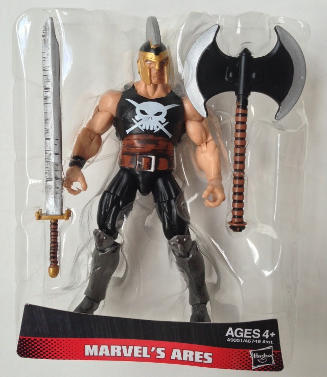 Marvel Infinite Series Wave 3 Ares Figure in Bubble with Accessories