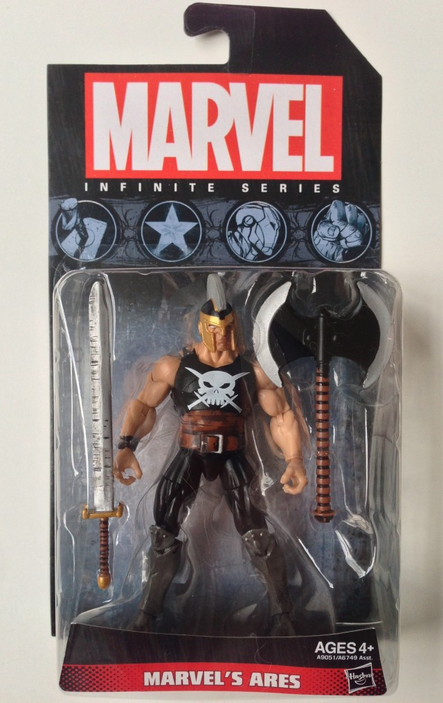 Hasbro 2014 Marvel Universe Ares Figure Packaged