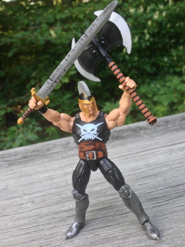 Hasbro Ares Marvel Infinite Series Figure Axe and Sword Weapons