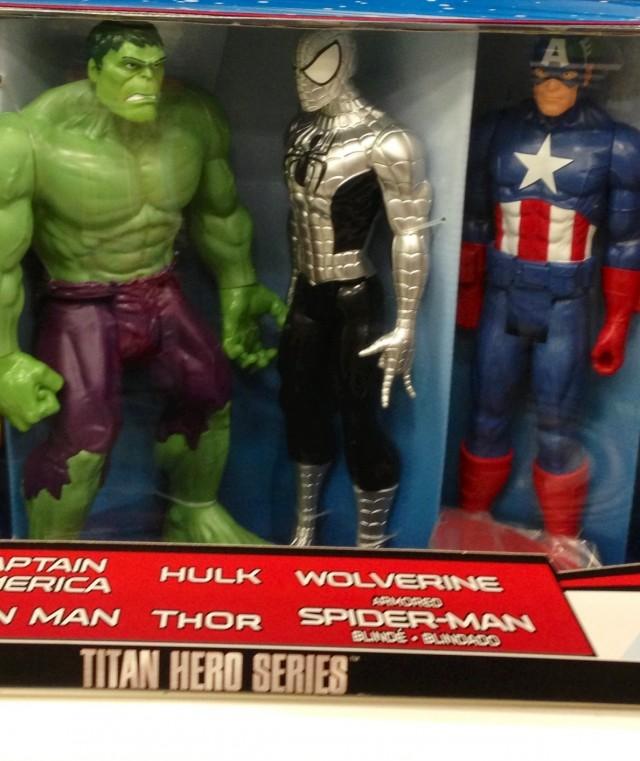 "Titan Hero Spider-Armor Spider-Man Exclusive 12"" Figure Target Hasbro 2014"