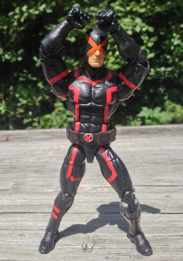 Hasbro Cyclops Marvel Legends Figure Giving X Sign