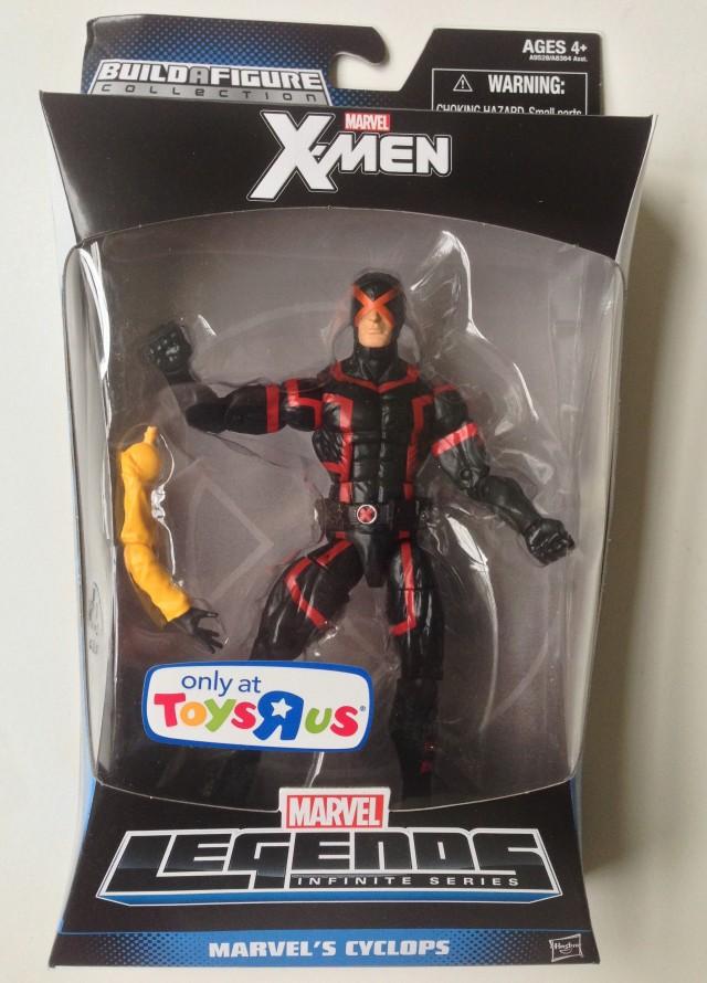X-Men Marvel Legends Jubilee Build-A-Figure Series Cyclops Packaged