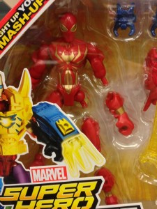 Marvel Super Hero Mashers Iron Spider Figure Close-Up