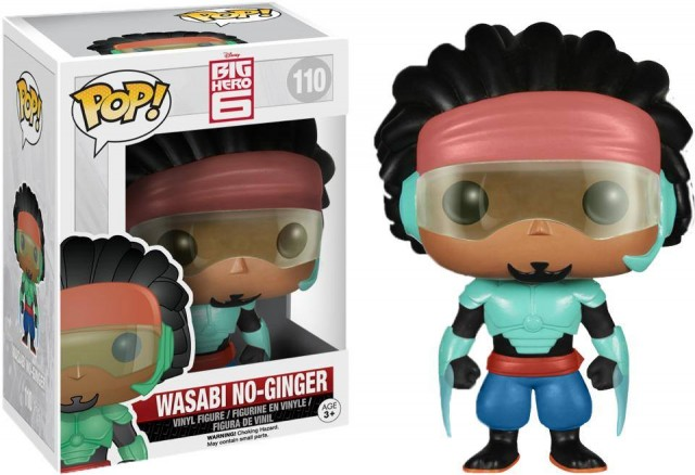 Big Hero 6 Funko POP Vinyls Wasabi No Ginger Figure