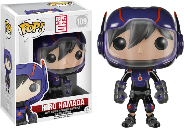 Big Hero Six Funko Hiro Hamada POP Vinyls Figure