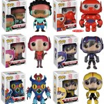 Funko Big Hero 6 POP Vinyls Figures Revealed & Photos!