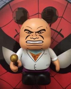 Disney Vinylmation Kingpin Chaser Vinylmation Marvel Series 2 Spider-Man
