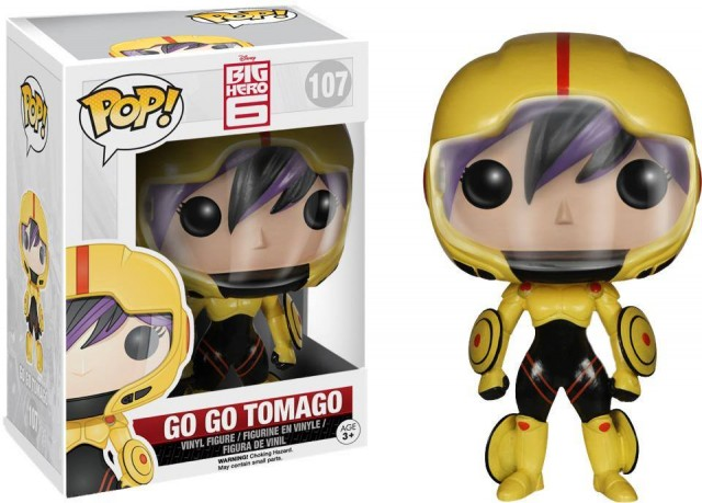 Funko Big Hero 6 Go Go Tomago POP Vinyls Figure