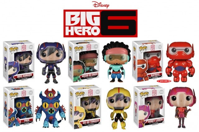 Funko Big Hero Six POP Vinyls Figures