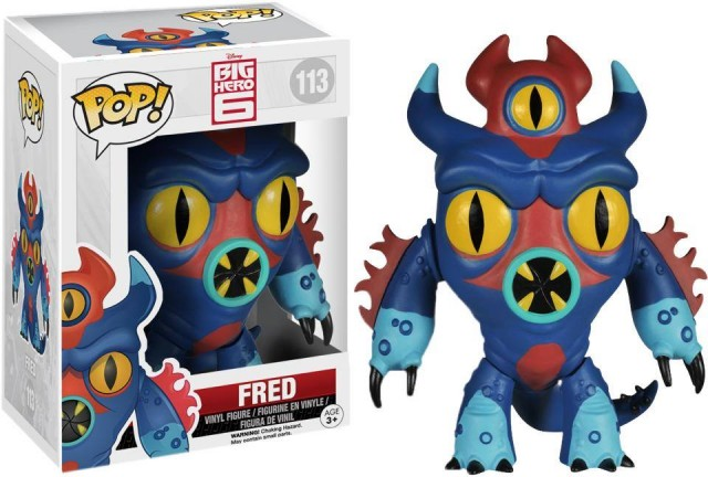 Funko POP Vinyls Big Hero 6 Fred Figure