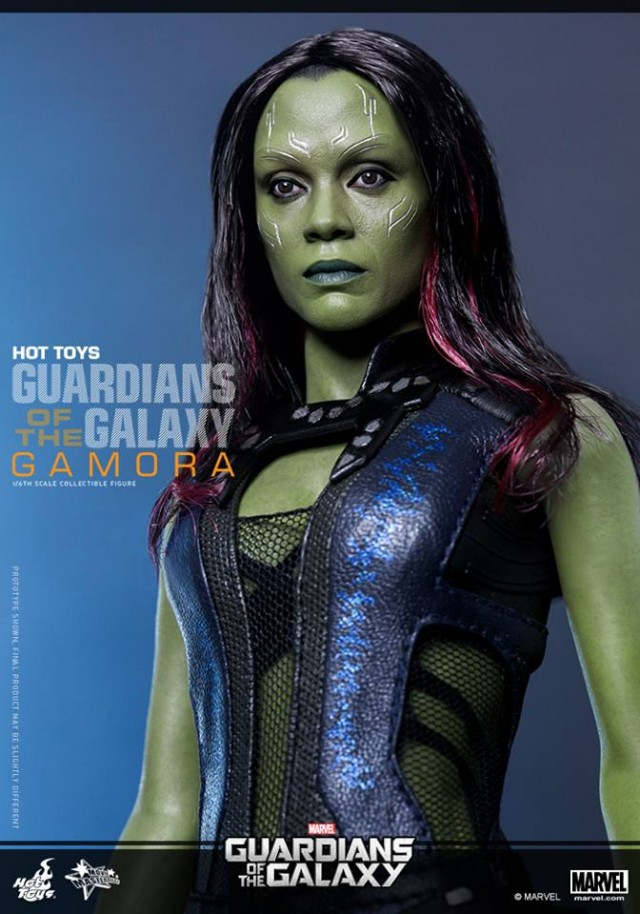 Guardians of the Galaxy Gamora Hot Toys Sixth Scale Figure