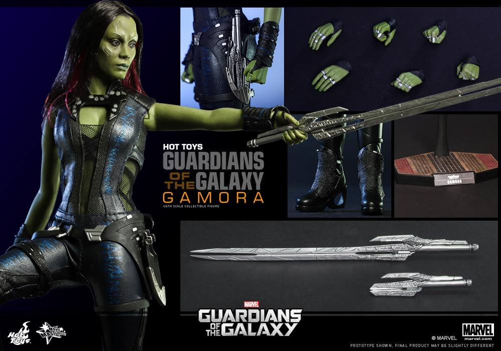 Hot toys gamora figure up for order marvel toy news for Galaxy toys