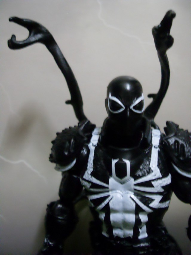 Hasbro Marvel Legends Agent Venom Figure Close-Up
