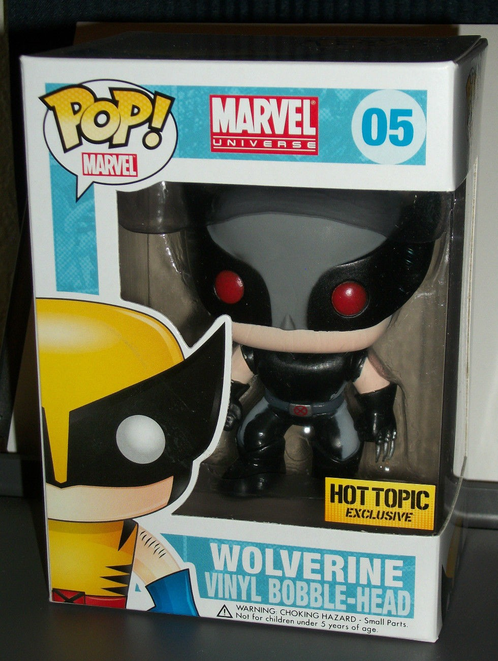 Toys From Hot Topic : Funko pop marvel wolverine force hot topic exclusive