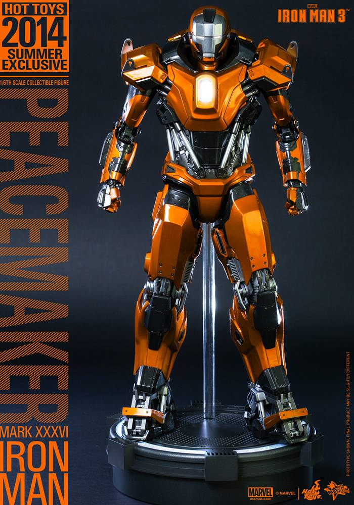 Iron Man Mark 36 ~ Hot toys peacemaker iron man exclusive figure up for order
