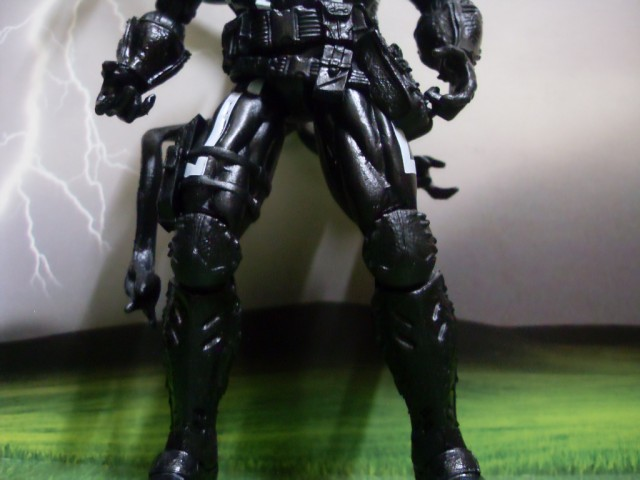 Lower Body of Amazing Spider-Man Marvel Legends 2014 Agent Venom Figure