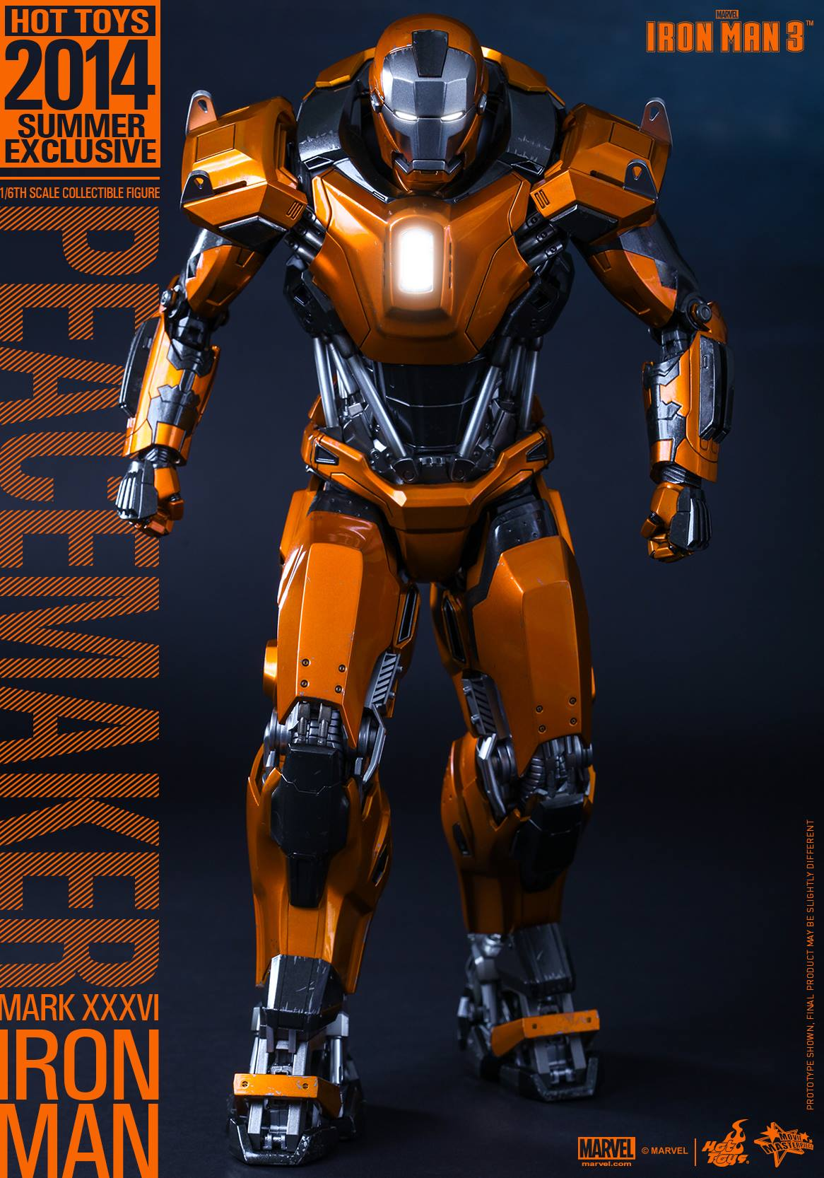 Iron Man Mark 36 Peacemaker Toys Peacemaker Iron Man