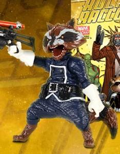 Marvel Legends Rocket Raccoon Variant Figure Marvel Unlimited Plus