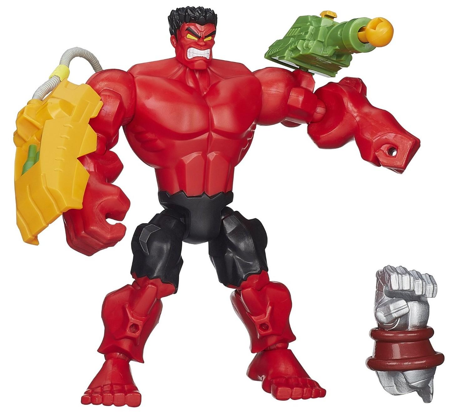 marvel mashers deadpool red hulk figures released marvel toy news. Black Bedroom Furniture Sets. Home Design Ideas