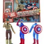 Marvel Retro Captain America 8″ Figure Set Photos & Pre-Order!
