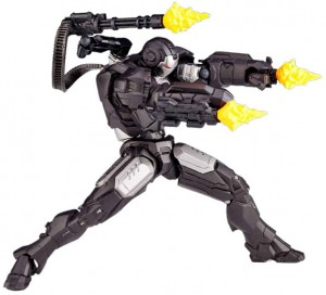 Revoltech Mini War Machine Figure with Effects Pieces