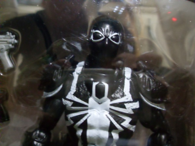 Spider-Man Marvel Legends 2014 Agent Venom Action Figure Close-Up