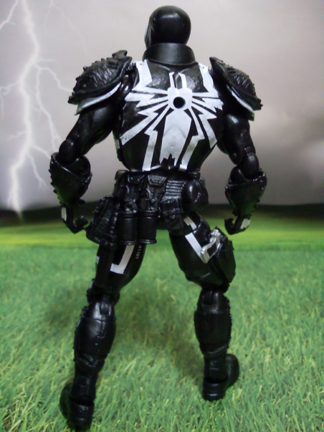 Walgreens Exclusive Agent Venom Marvel Legends Figure Back