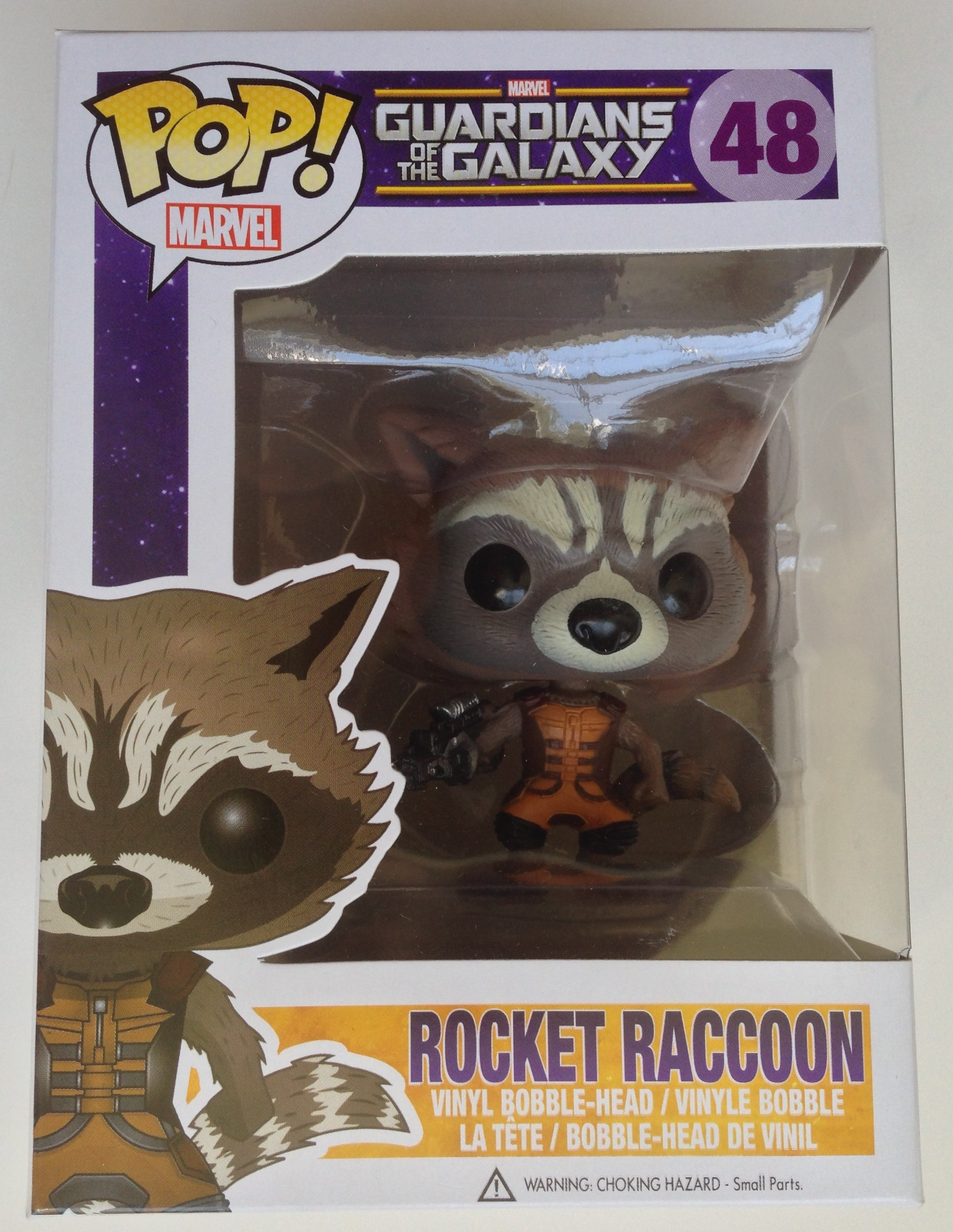 Funko Rocket Raccoon Pop Vinyls Review Amp Photos Marvel