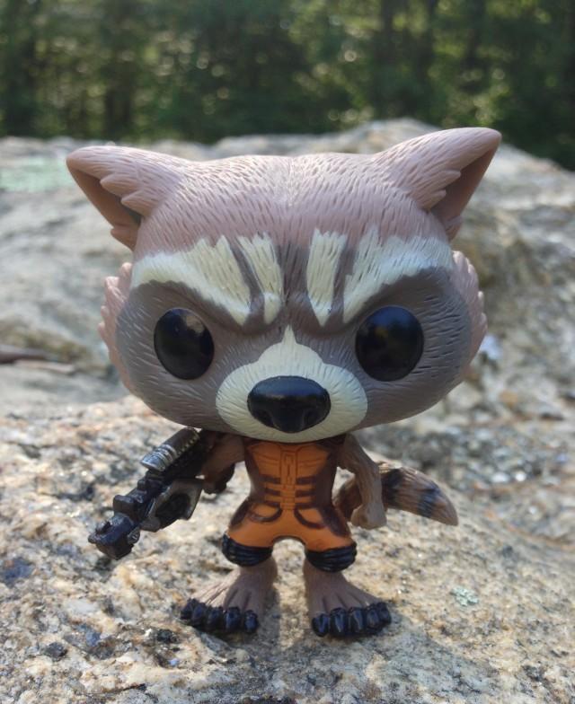Rocket Raccoon Funko POP! Vinyl Bobble Figure