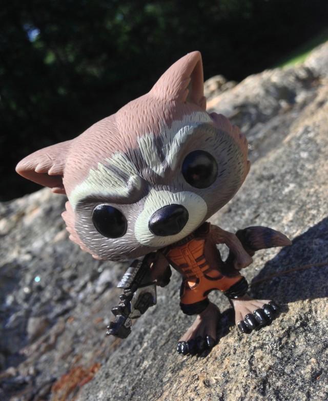 Funko Rocket Raccoon POP Vinyl Figure Review