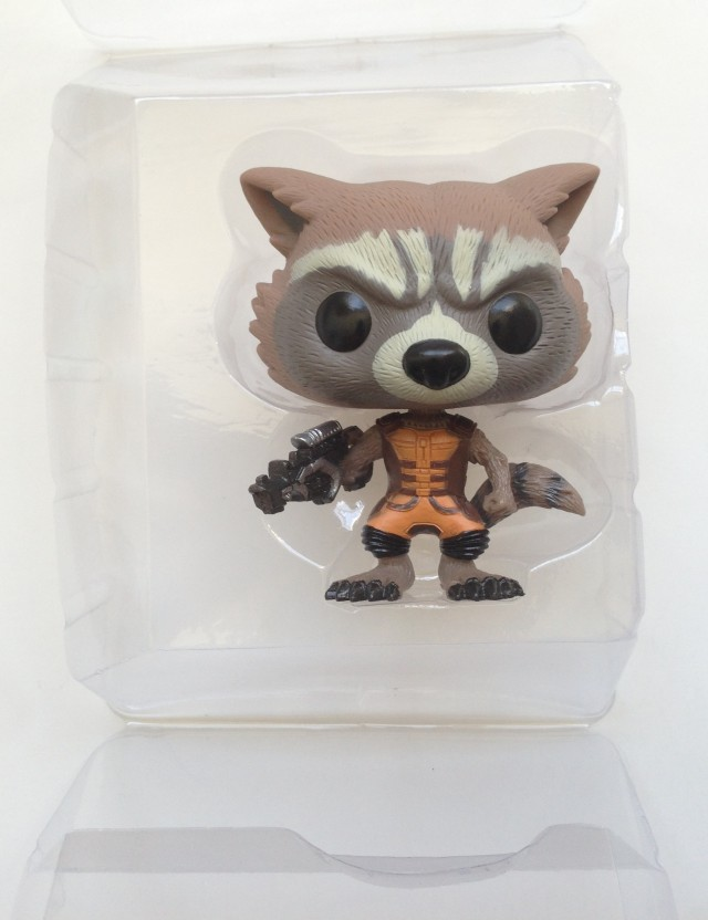 Funko Rocket Raccoon POP! Vinyl Bobblehead in Packaging