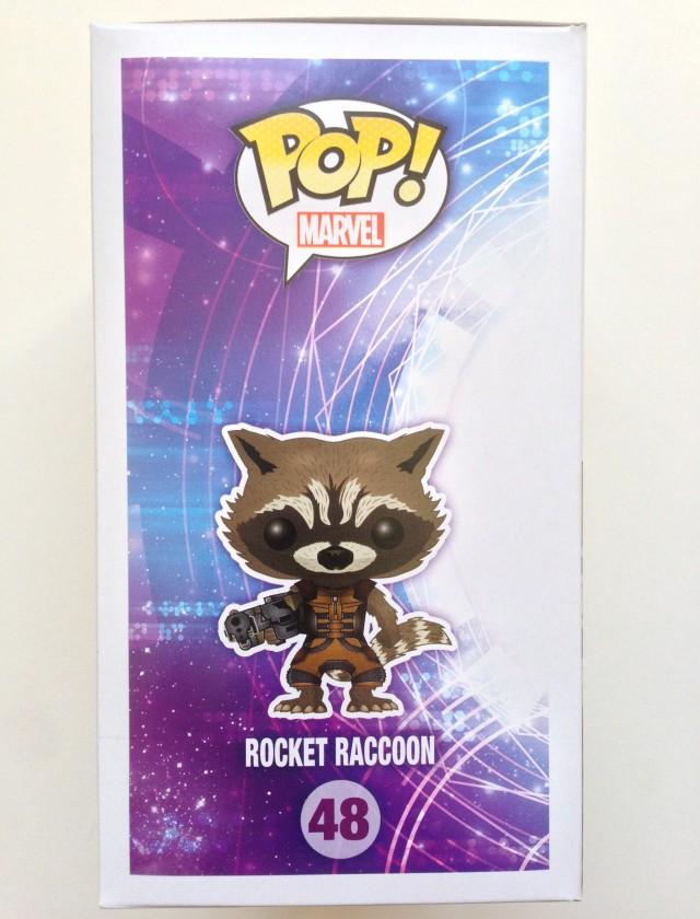 Funko POP! Rocket Raccoon Box Art